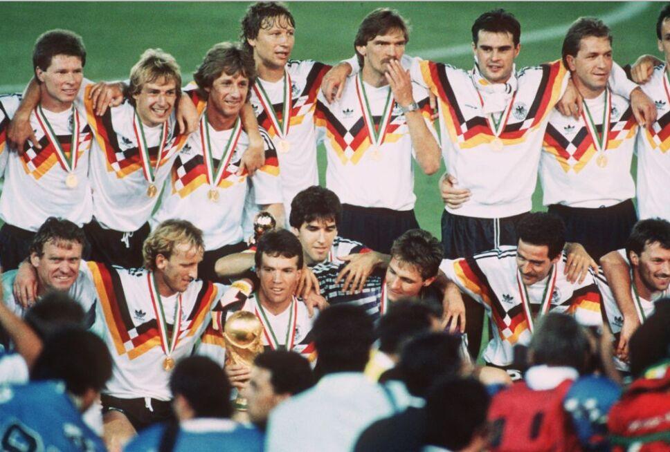 Alemania fue campeona del Mundo ante Argentina en 1990