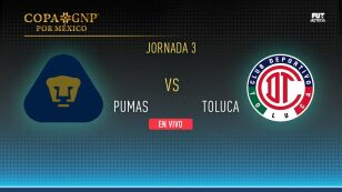Copa GNP EN VIVO | Pumas vs Toluca por pase a semifinales EN VIVO