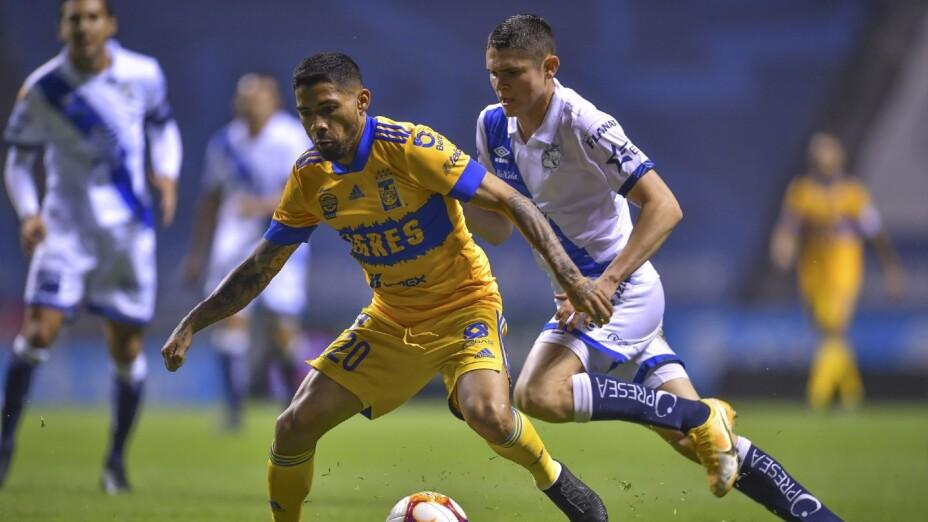 Puebla vs Tigres, Liga MX