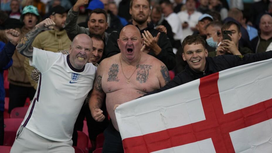 Aficionados en Wembley