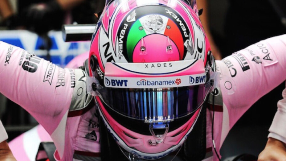 "Sergio ""Checo"" Pérez piloto de Fórmula Uno"
