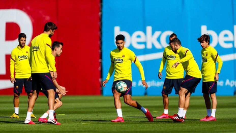 Barcelona entrenamiento tras Coronavirus