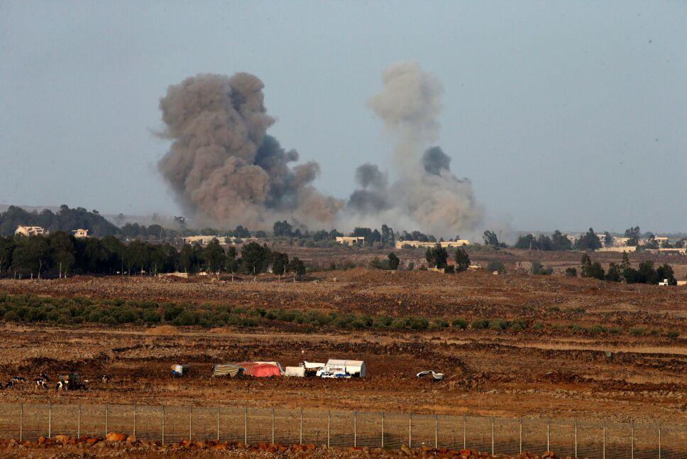 israel guerra siria