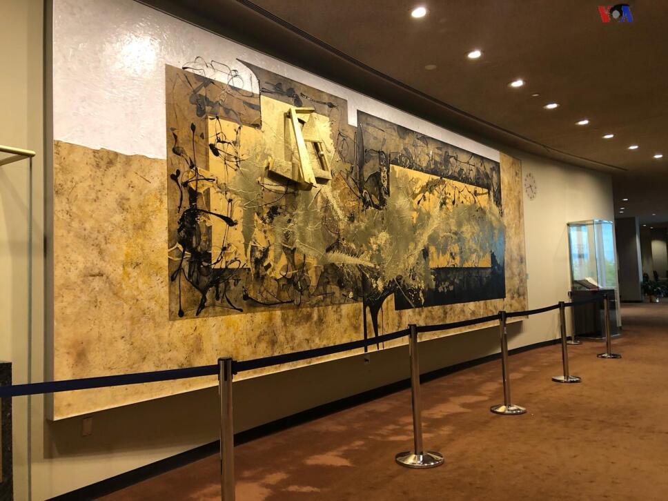 Obsequia México a la ONU un mural