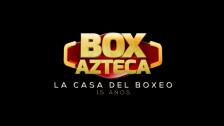 box azteca 15 años celebracion