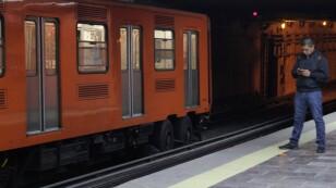 Poca afluencia en el Metro de la CDMX