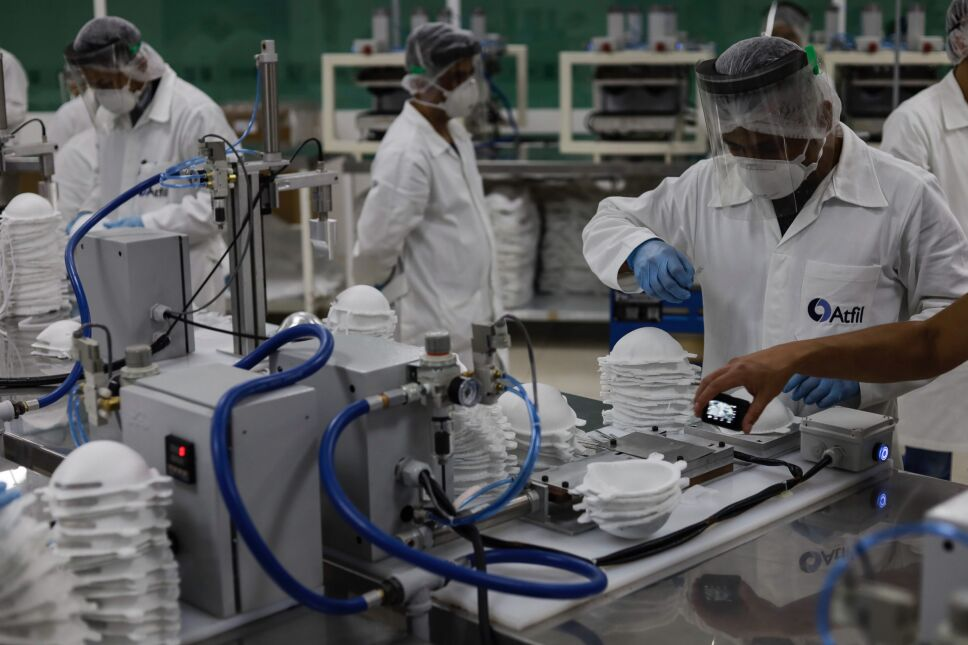 Fabrica de Cubrebocas N95