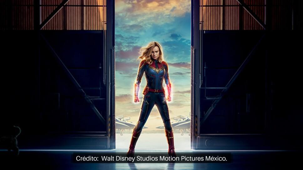 Capitana Marvel Detrás de Cámaras