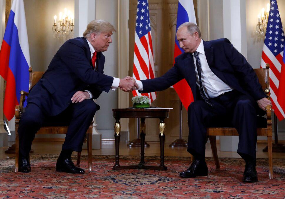 Trump reunión con Putin