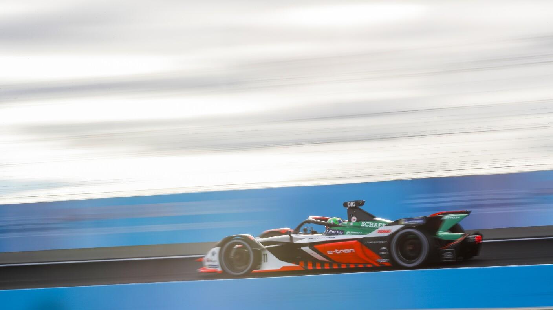 Velocidad al máximo en la Fórmula E de Puebla.