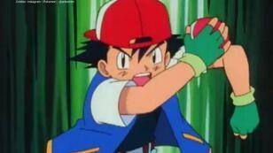 Ash Ketchum sorprendió a sus fans al aparecer con su familia.