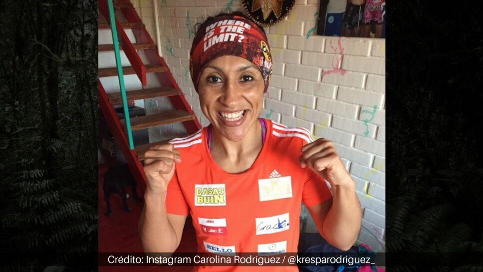 Es doble campeona mundial de peso gallo.