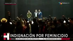 Paro de labores por feminicidio en la Universidad de Guanajuato