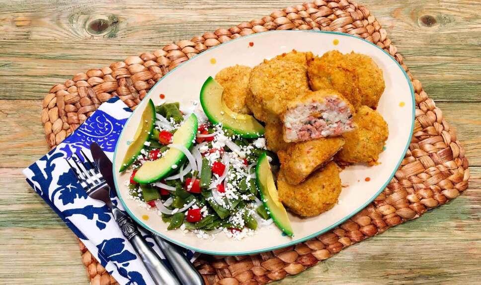 Receta Croquetas de atún Cocineros Mexicanos