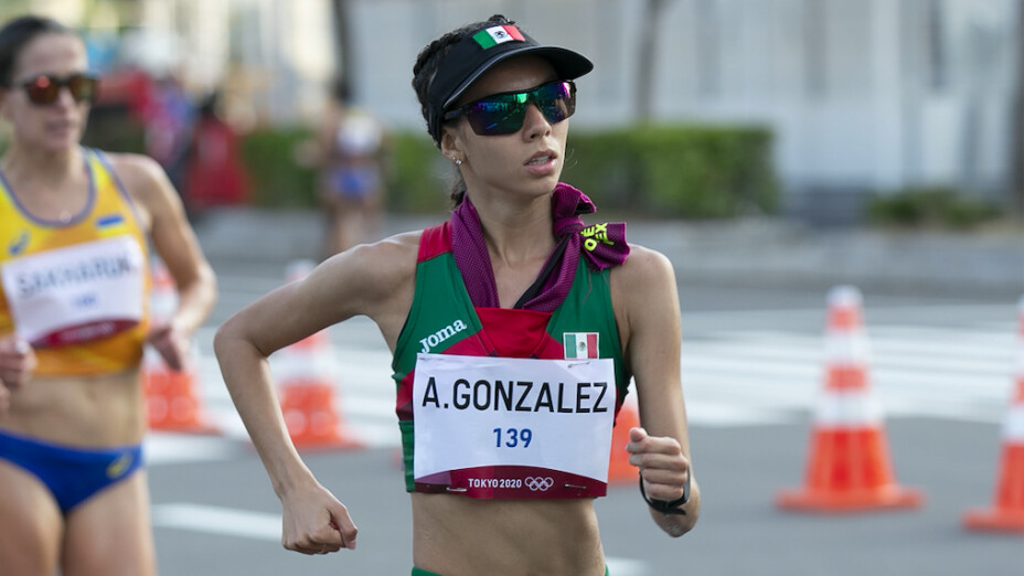 Alegna González Marcha 20 kilómetros Tokio 2020