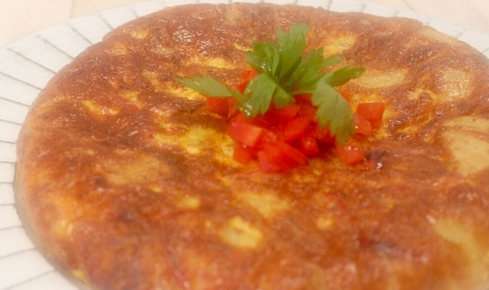 tortilla española, que hay de comer