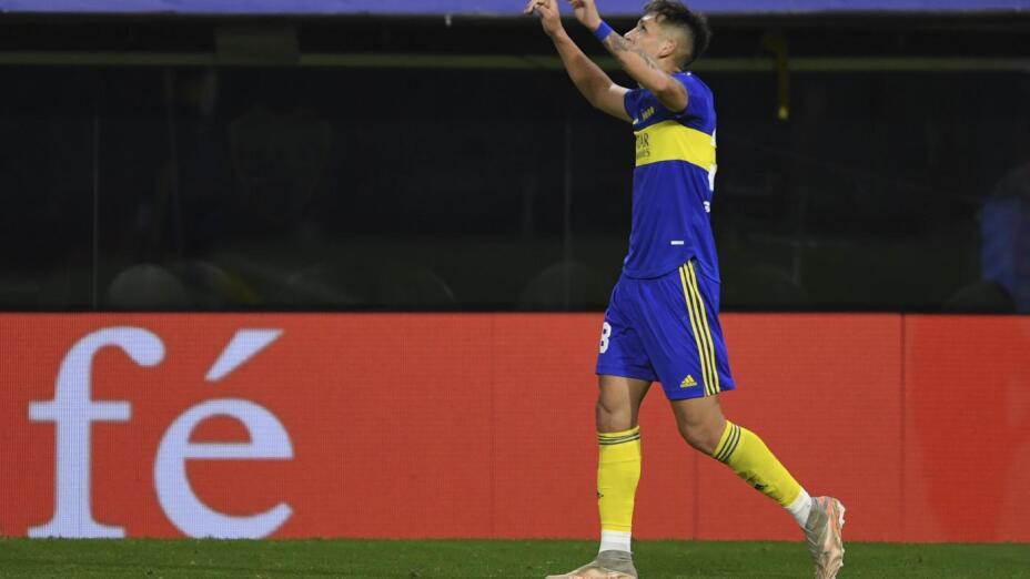 Luis Vazquez y su primer gol en Boca