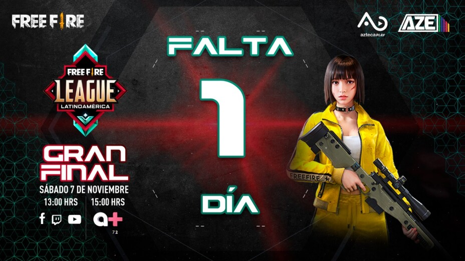 Free Fire League 2020 por Azteca Esports