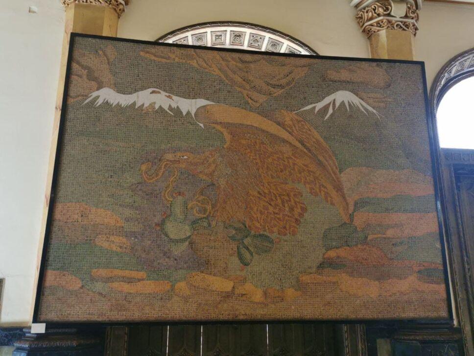 """Mural """"Escudo Nacional"""""""