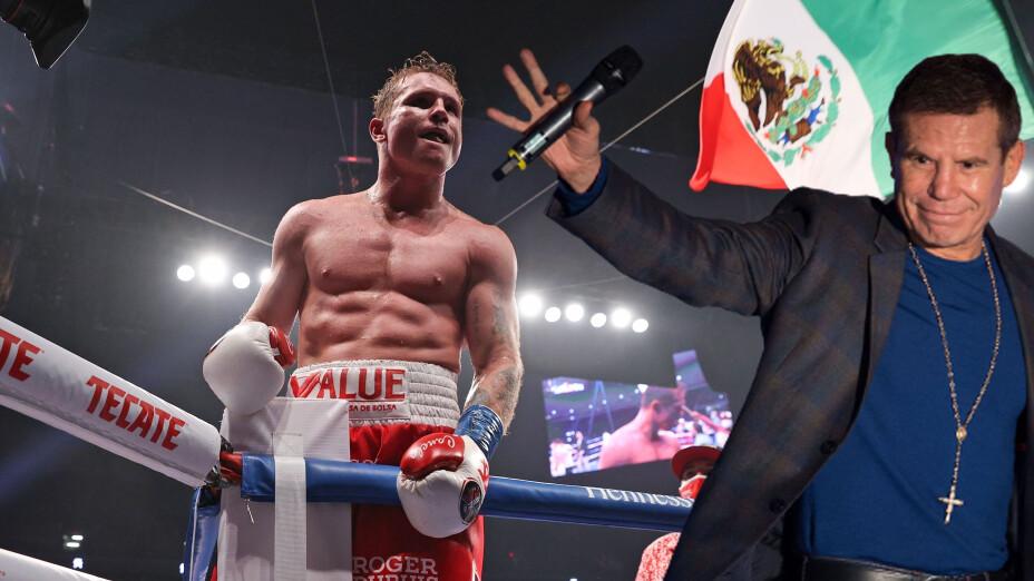 Para Julio César Chávez, Canelo Álvarez ya está entre los mejores en la historia de México