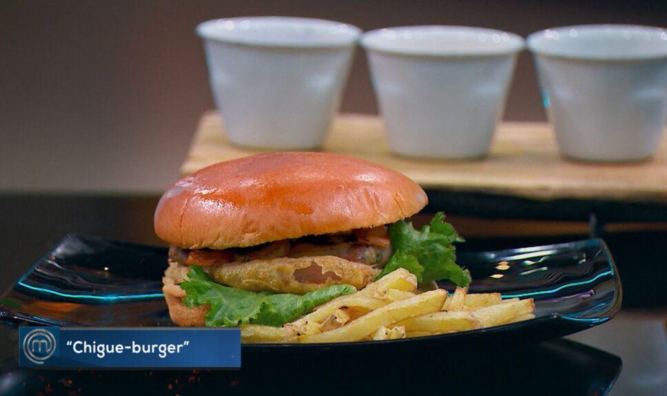 Platillos MasterChef México, Chigue burger