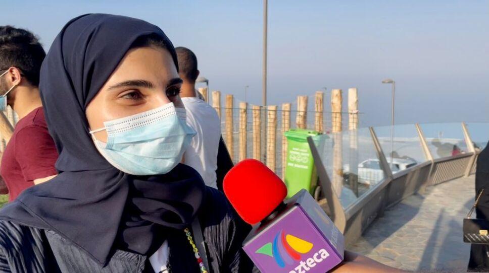 Khor Fakkan entrevistada