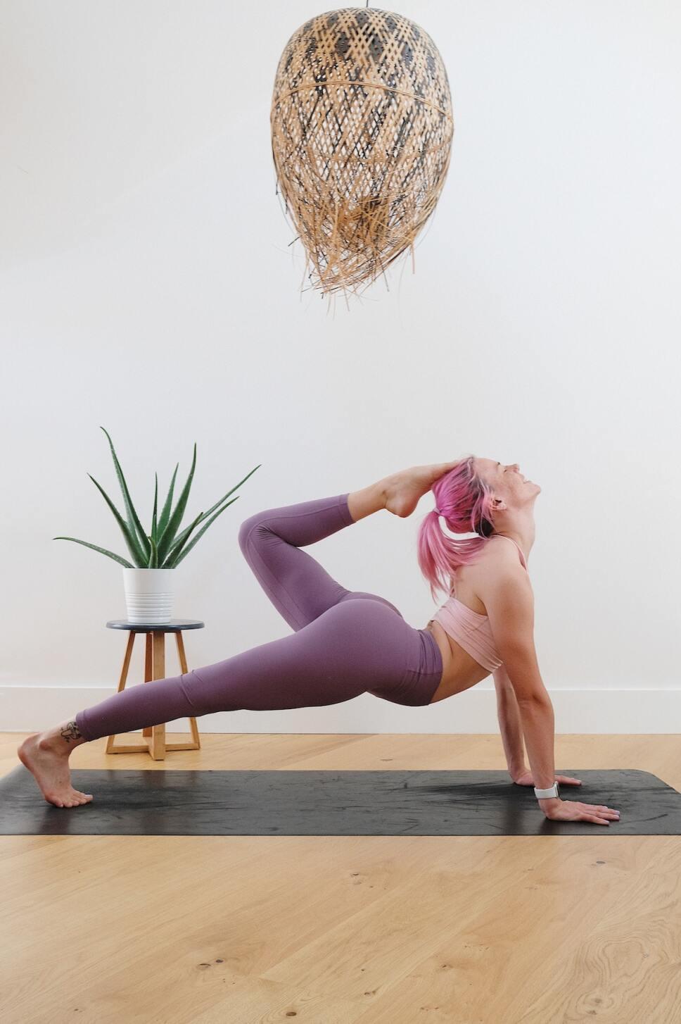 yoga para llegar al climax