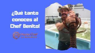 Aquí seis cosas que probablemente no sabías del Chef Benito...