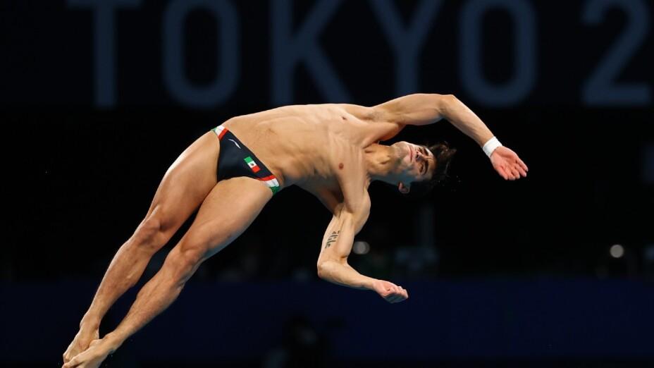 Andrés Villarreal en los Juegos de Tokyo 2020