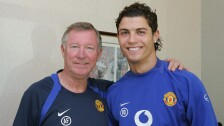 Cristiano Ronaldo y Ferguson