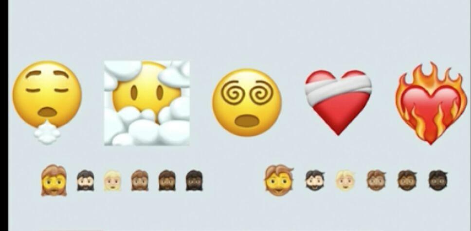 Los nuevos emojis