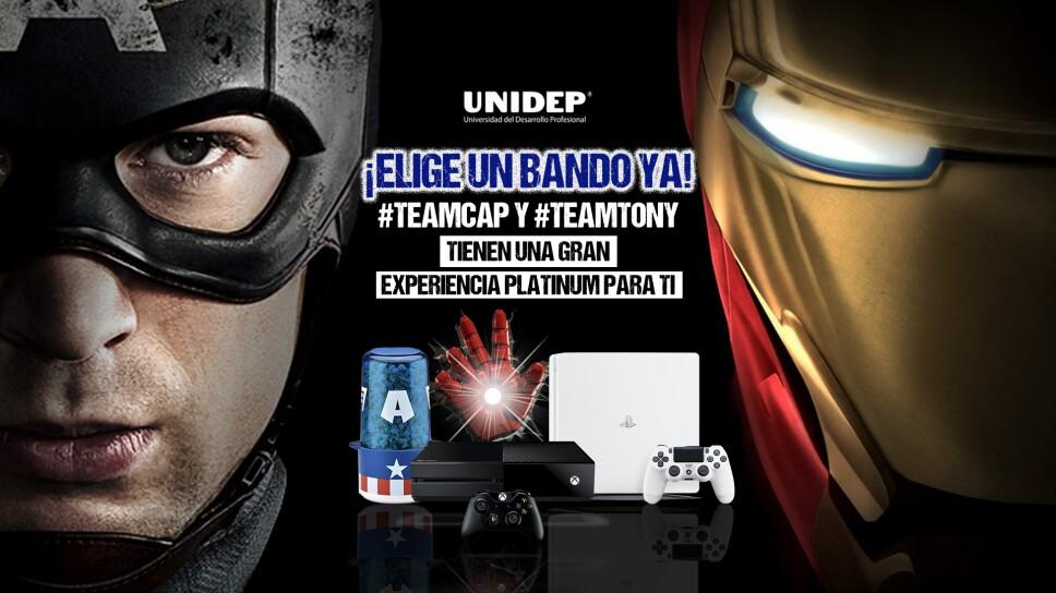 Team Cap y Team Tony. Experiencia Platinum