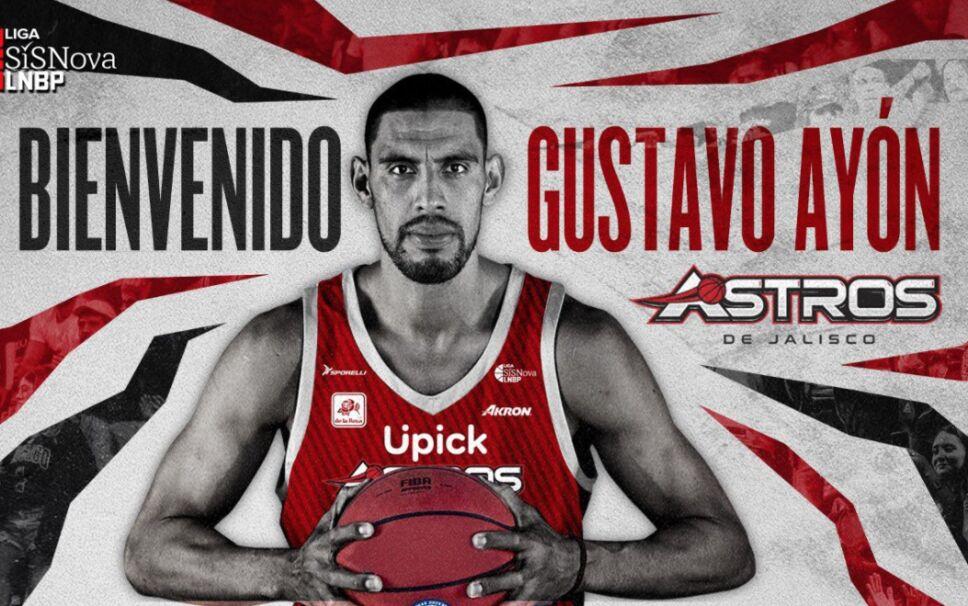 Gustavo Ayón jugará en México con Astros de Jalisco