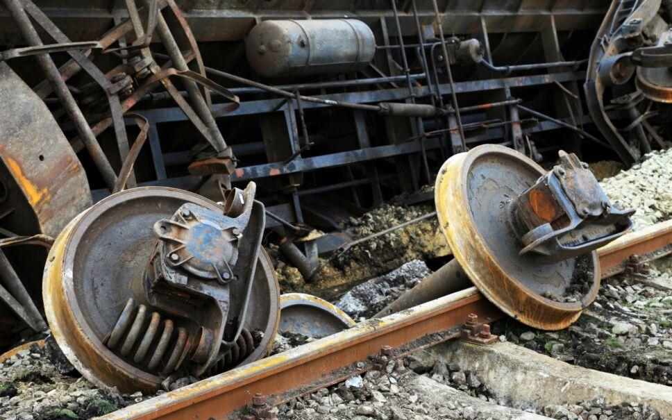 Accidente de tren en New York