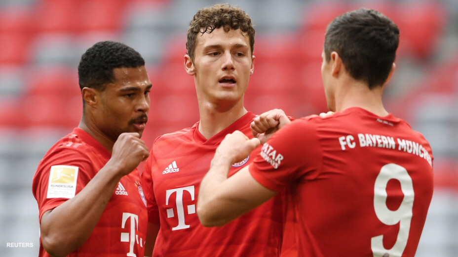Bayern Munich vs Fortuna