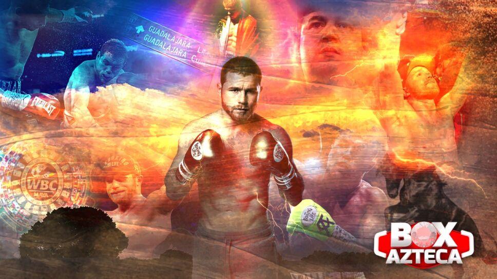 Canelo Álvarez vs Avni Yildirim box azteca
