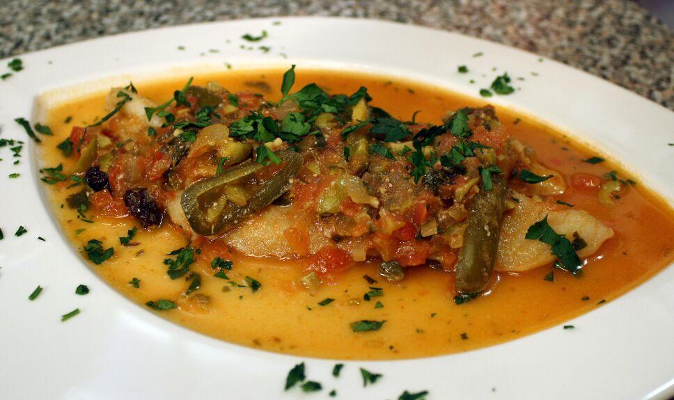 filete de pescado a la veracruzana