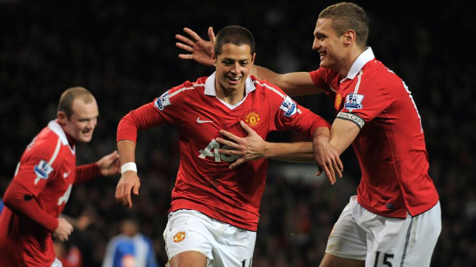 Chicharito en el Manchester United