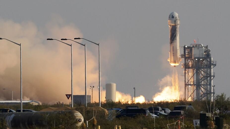 Viaje espacial de Jeff Bezos