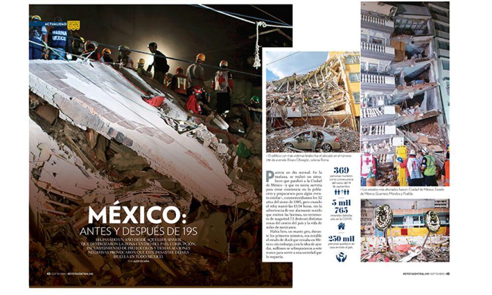 Sismo del 19S sigue en la memoria de los mexicanos