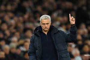 José Mourinho, técnico de la Roma