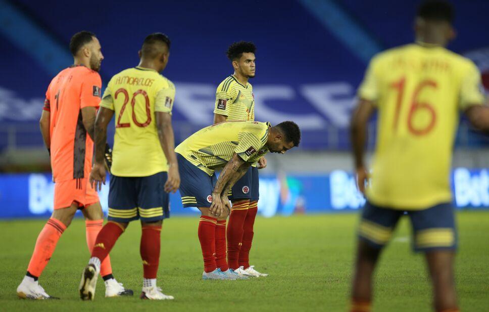 Golpes en el vestidor de Colombia tras escandalosa goleada ante Ecuador