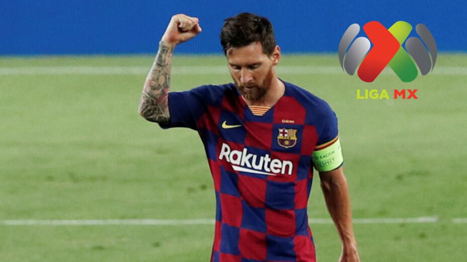 Lionel Messi vale más que todo la Liga MX