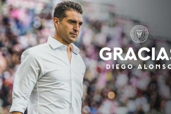 Inter de Miami despide a Diego Alonso.