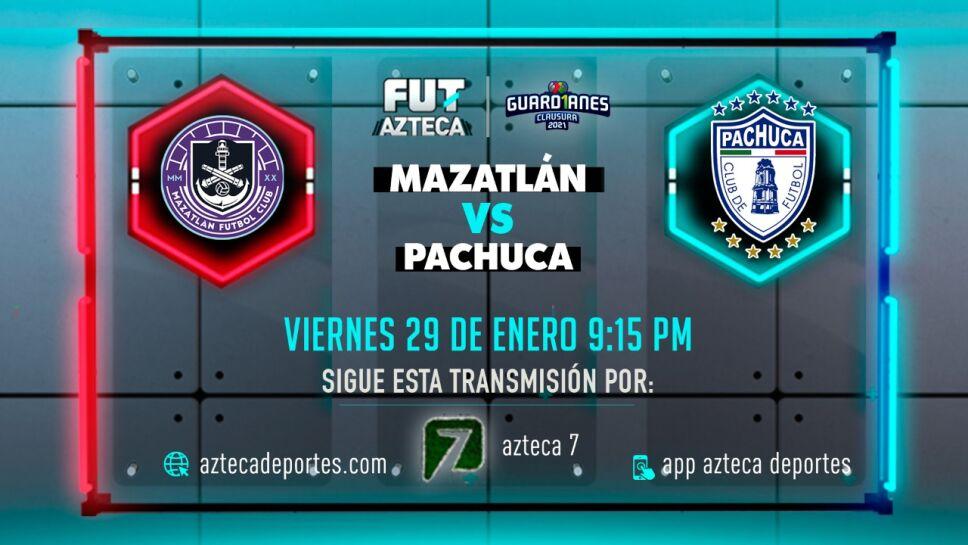 Mazatlán FC vs Pachuca Jornada 4   Guardianes 2021