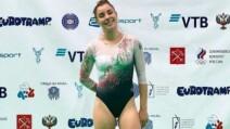 Gimnasta mexicana Dafne Navarro se instala en histórica semifinal de mundial