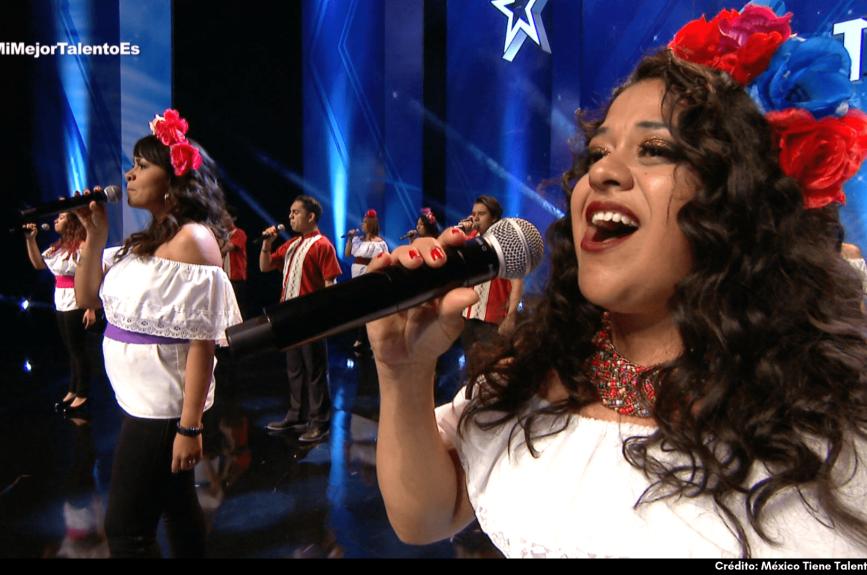 El coro de 'Vuela Alto' hace canciones ¡que no llevan instrumentos! Su objetivo es inspirar a más gente y darse a conocer por su estilo único.