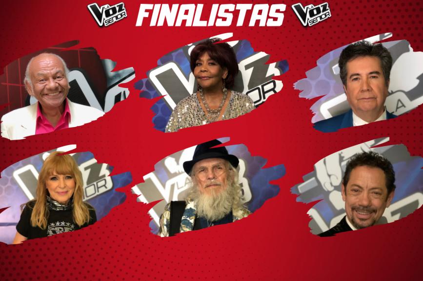¡Ellos son los primeros seis participantes que avanzaron a la Final de La Voz Senior!