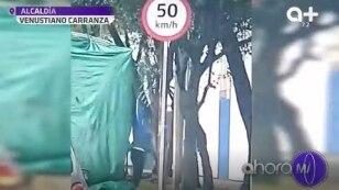 Traficantes abandonan a migrantes en  #VenustianoCarranza