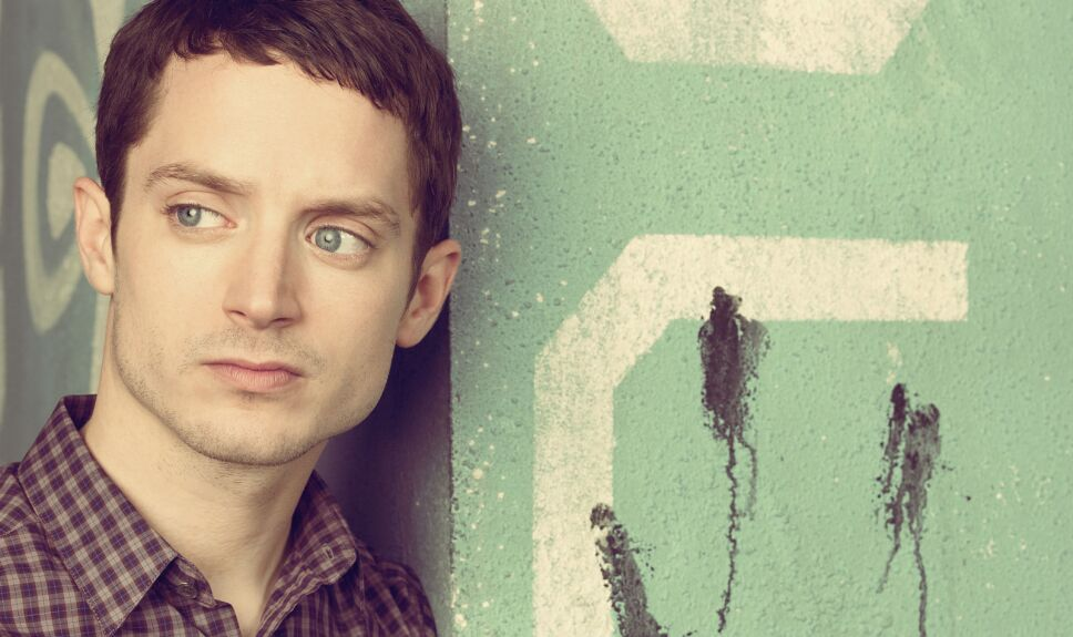 Elijah Wood en Wilfred, poster de temporada 2